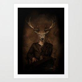 The Gentle Deer Art Print