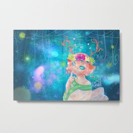 Kimari: The Healer Metal Print