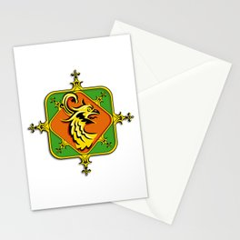 Golden Griffin Stationery Cards