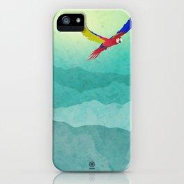 Macaw (Guacamaya) iPhone Case