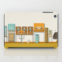 budapest hotel iPad Cases featuring The Grand Budapest Hotel  by Daniel long Illustration