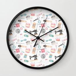 The Craft Room Wall Clock