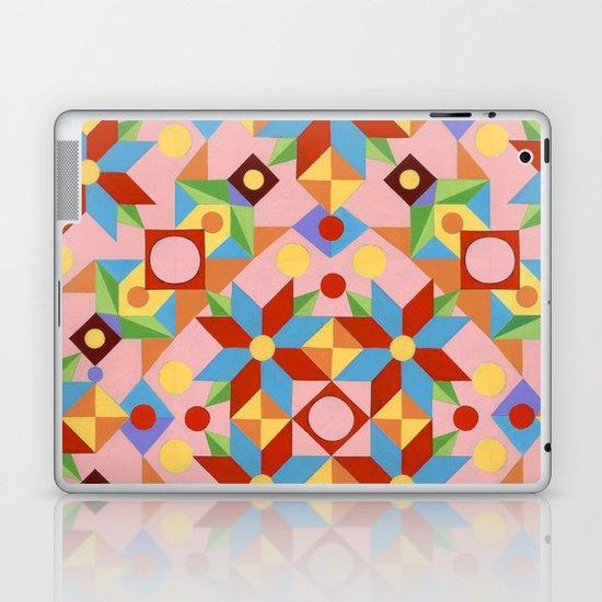 Pink Rolling Star Laptop & iPad Skin