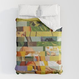 Don't Entirely Trust the Gardener (Provenance Series) Comforters