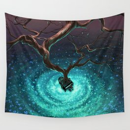Let it grow Wall Tapestry