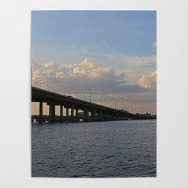 Under the Caloosahatchee Bridge Poster