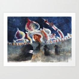 Salaam Art Print