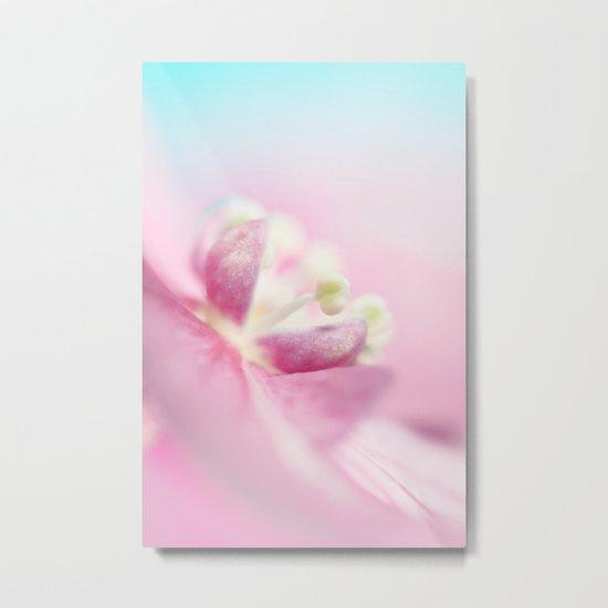 Dreamy in Pink Metal Print