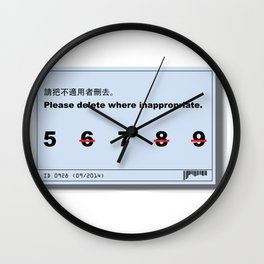 Inappropriate Wall Clock