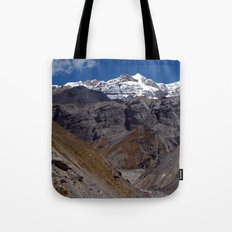 Scenery near Thorung Phedi Tote Bag