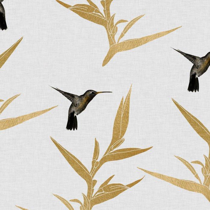 Hummingbird & Flower II Leggings