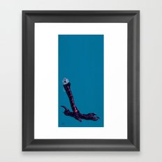 Crows Feet Framed Art Print