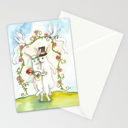 Rabbit Wedding Stationery Cards