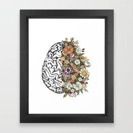 Anatomy Brain Framed Art Print