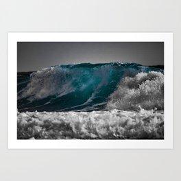 Wave Series Photograph No. 3 Art Print