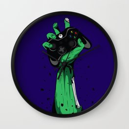 Zombie Gamer Wall Clock