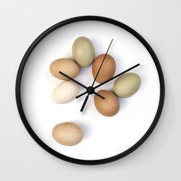 Eggs Wall Clock