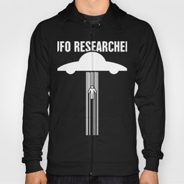 UFO Researcher | Alien Abduction Hoody