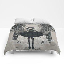 Dark Little Season Comforters