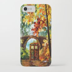 starry Abandoned phone box Under the bridge iPhone 4 4s 5 5c 6, pillow case, mugs and tshirt iPhone 7 Slim Case
