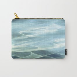 Water abstract H2O # 22 Carry-All Pouch
