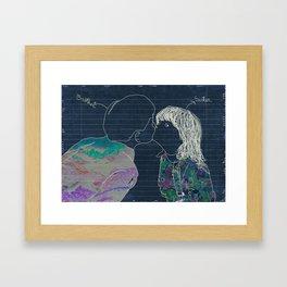 Que la inocencia te valga. Framed Art Print