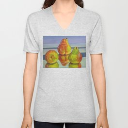 Pear Reflection Unisex V-Neck