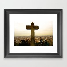 A top Barcelona Framed Art Print
