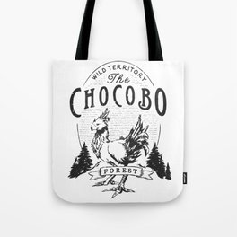 Chocobo Forest - Vintage Tote Bag