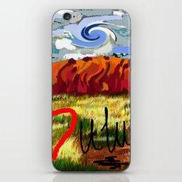 I love Uluru iPhone Skin