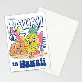 Kawaii in Hawaii Stationery Cards