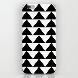Black & White Triangles iPhone Skin