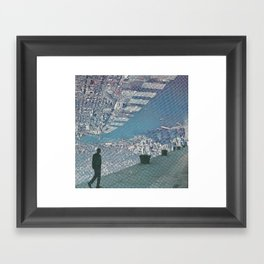 Up town Framed Art Print