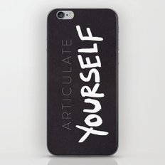 Articulate Yourself iPhone & iPod Skin
