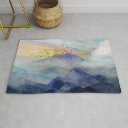 Mountain Sunrise Rug