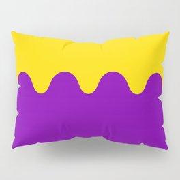 Wavy Intersexual Colors Pillow Sham