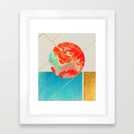 Earth & Sea #society6 #decor #buyart Framed Art Print