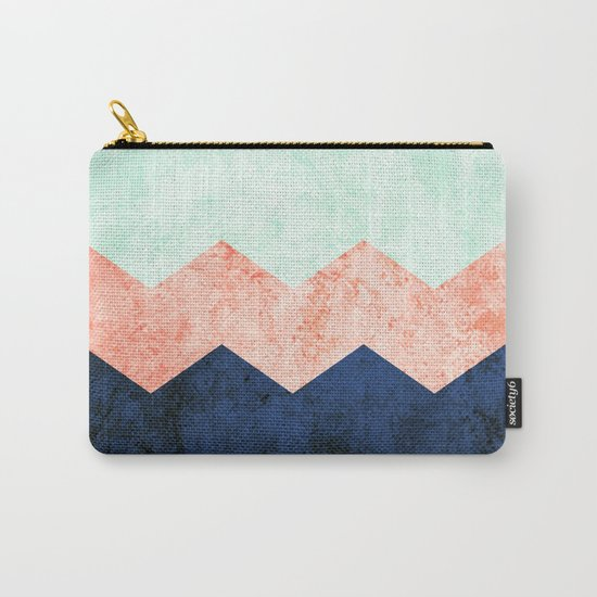 triple chevron (2) Carry-All Pouch