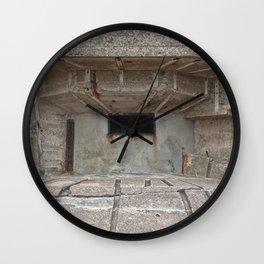 Jersey War Bunker Wall Clock