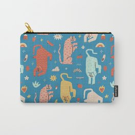 Trippy tigers Carry-All Pouch