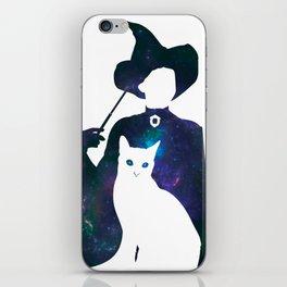 Minerva and Cat iPhone Skin