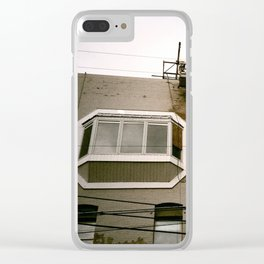 Window Lines Clear iPhone Case