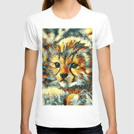 AnimalArt_Cheetah_20170602_by_JAMColorsSpecial T-shirt