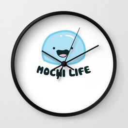 Funny Mochi Ice Cream Love Mochi Life Wall Clock