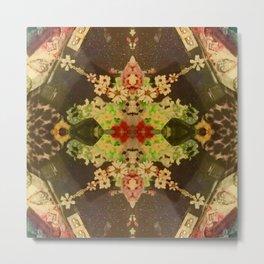 Carpet Bag Reimagined Metal Print