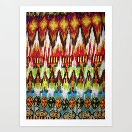 Tribal Fire Art Print