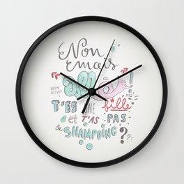 Allo! Wall Clock