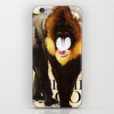 Mandrill iPhone & iPod Skin