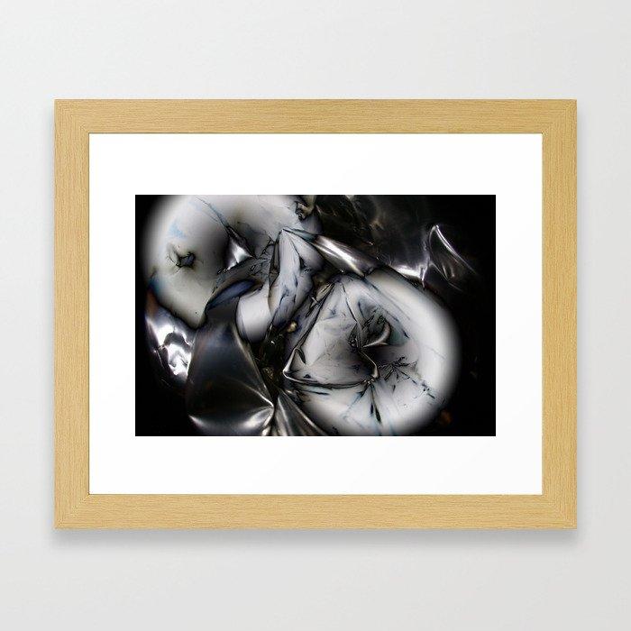 Metal memory Framed Art Print
