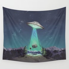 Abducted Wall Tapestry